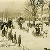 Winter Carnival, 1923. In sleigh marked with an X: Percy Cutter and Mrs Packard.