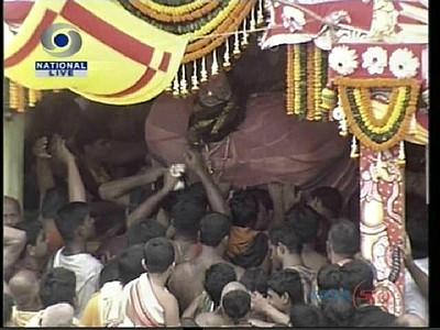 Puri Ratha Yatra 2009