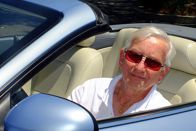 That's Will Hoehndorf, JCOF Concours d'Elegance Chairperson.