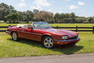 Pavel and Jana Vacatas'  1994 Jaguar XJ-S convertible. Photo courtesy of the Villages Photography Club.