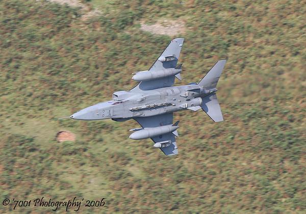 XX970/'EH' (6 SQN marks) Jaguar GR.3A - 21st September 2006.
