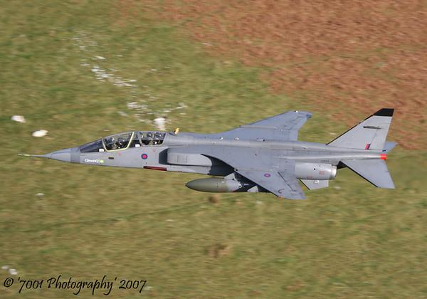 XX833 (QINETIQ) Jaguar T.2 - 11th December 2007.