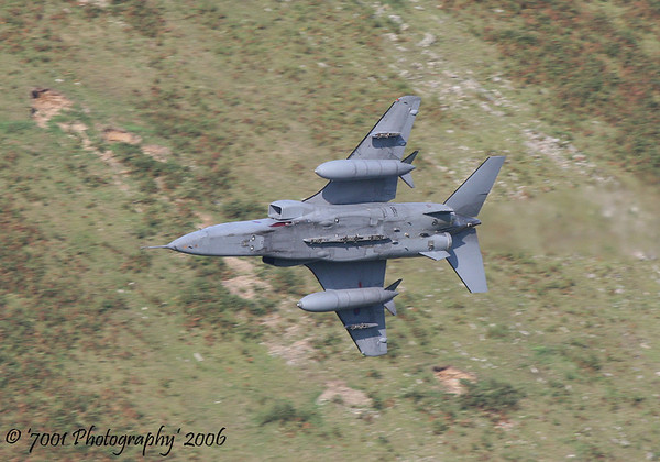 XX840/'EY' (6 SQN marks) Jaguar T.4 - 21st September 2006.
