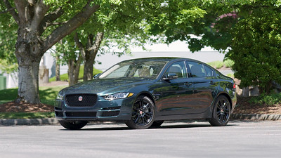2017 Jaguar XE 25t Parked Reel