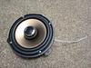 "Aftermarket speaker mounted to speaker adapter    from  <a href=""http://www.car-speaker-adapters.com/items.php?id=SAK043""> Car-Speaker-Adapters.com</a>"