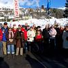 Hier die 25 Teilnehmer am Vormittag des 15.02. vor dem Start zum Besuch des Umzuges