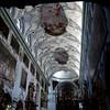 Die umfangreichsten Umbauten erfolgten 1619/20. Dabei wurde der flachgedeckte romanische Bau eingewölbt und mit relativ großen Obergadenfenstern ausgestattet, die mit Stichkappen in die Wölbung einschneiden. Durch das Verschleifen der Jochgrenzen schuf man Raum für großzügige Deckengemälde. 1622 entstand die Vierungskuppel über dem Presbyterium. Seinen Rokokoschmuck erhielt die Kirche zu Beginn des 18. Jahrhunderts durch Abt Beda Seeauer. In seiner reinen Form finden wir diesen Schmuck  vor allem am Gewölbe.