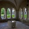 Das Brunnenhaus vor dem Refektorium diente der Reinigung vor den Mahlzeiten.