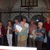 Fritz führte durch die gotische Johanneskapelle, die in den Jahren 1448 bis 1451 erbaut wurde. Das Schmuckstück der Kapelle ist der gotische Flügelaltar.