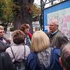 """Nach dem Mittagsessen in der Belgierkaserne besichtigten wir die Altstadt Graz, wobei wir uns weitgehend auf die """"Grazer Stadtkrone"""" beschränkten, die aus den vier Kulturdenkmälern Dom, Burg, Mausoleum Kaiser Ferdinand II. und dem Opernhaus besteht."""