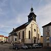 Der spätgotische Grazer Dom, heute Kathedralkirche der Diözese Graz-Seckau wurde gemeinsam mit der Grazer Burg ab 1438 unter Kaiser Friedrich III. als Hofkirche erbaut. Später wurde sie Ordenskirche der Jesuiten. Nach Aufhebung des Ordens (1773) zeitweilig ohne Funktion bekam sie mit der Verlegung des Bischofssitzes der Diözese den Titel Kathedralkirche.
