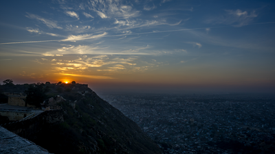 Sunset @ Nahargarh fort
