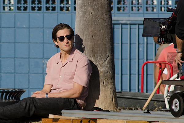 Jacke Gyllenhaal seen in Venice