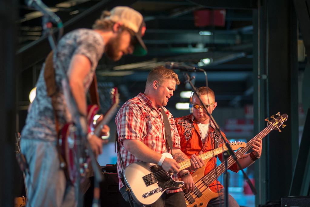 Jake Moffat Band at the Bricktown Ballpark