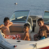 Starting off w/ a boat ride -  August 16, 2012<br /> Dillon, Jake, Kylie and Brian