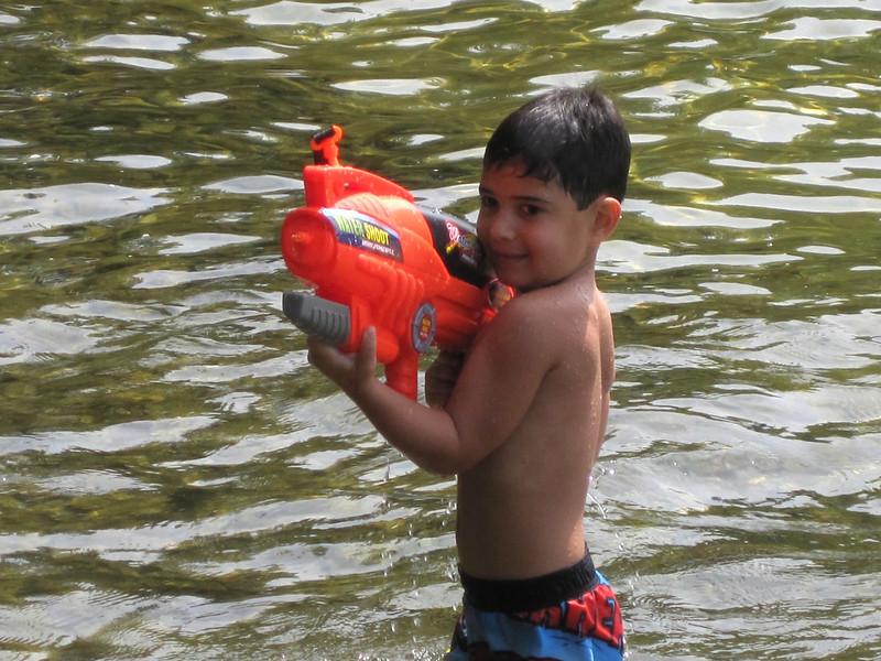 Fun with the Water guns!