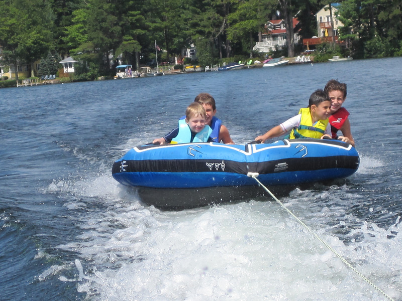 Tubing in Maine