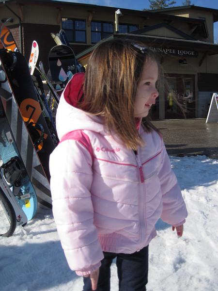 Sunapee snow bunny<br /> Kylie age 3 1/2