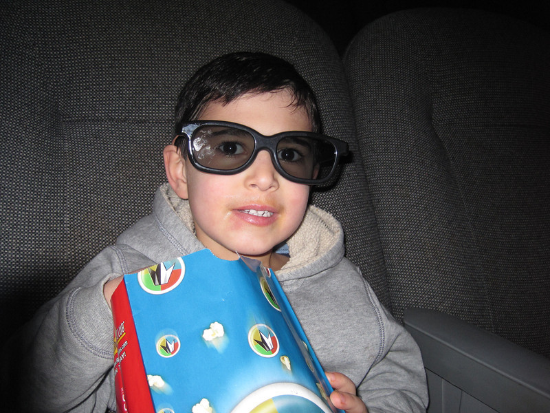 Star Wars - The Phantom Menace in 3D<br /> February 19, 2012 - Jake age 5 1/2