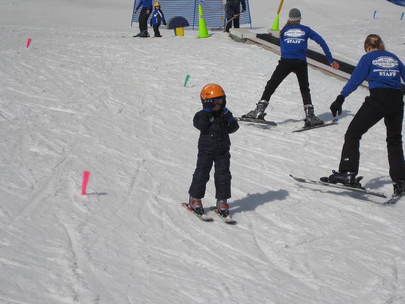 1st time Skiing!<br /> Mount Sunapee - February 22, 2012  (age 5 1/2)
