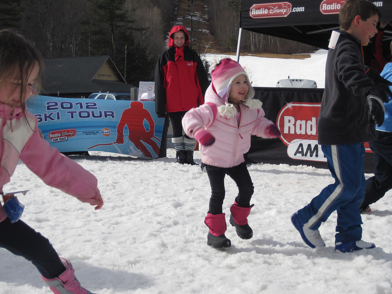Kylie in the Radio Disney dance contest<br /> Mount Sunapee - February 23, 2012