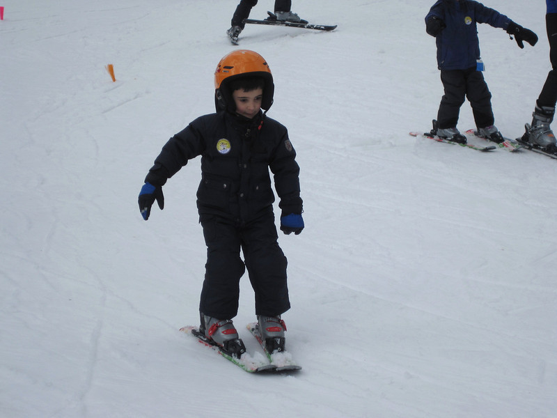1st time Skiing<br /> Mount Sunapee - February 22, 2012 (age 5 1/2)