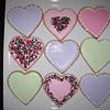 Homemade Valentine sugar cookies