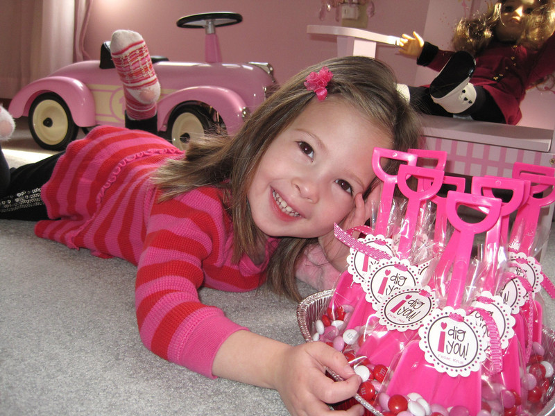 Happy Valentine's Day 2012<br /> Kylie age 3 1/2