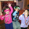 Lucey (4), Jake (5), Kylie (3)<br /> Celebrating New Year's Eve 2012 at the Jean's House