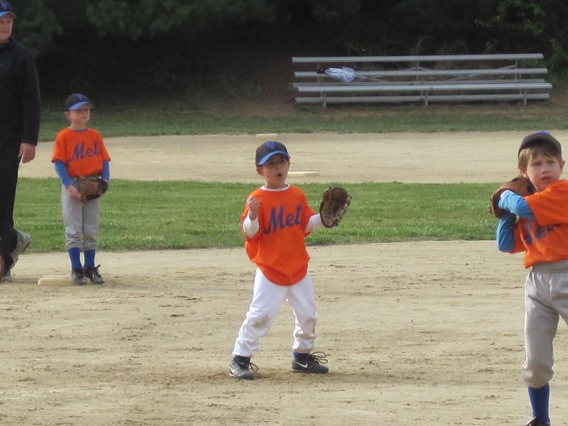 Having fun on the field