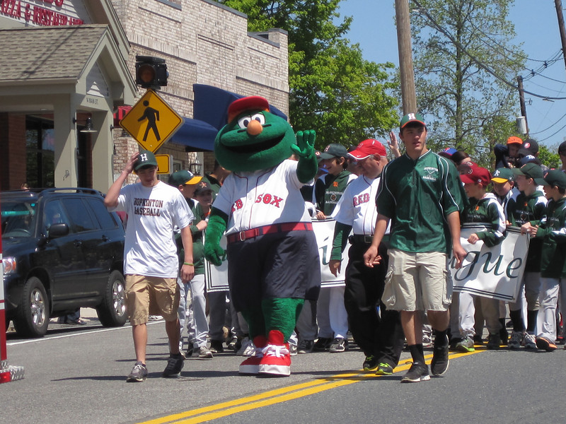 Wally at the Parade!<br /> April 29, 2012