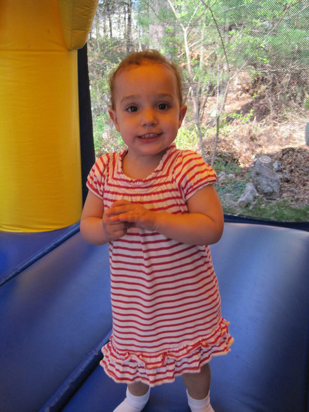 The Birthday Girl!<br /> Charlotte age 2 - April 21, 2012