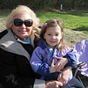 Grandma and Kylie watching Jake play ball<br /> April 28, 2012