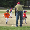 Coach telling Jake to run home!<br /> Mets vs. Phillies - April 28, 2012