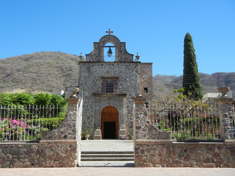 Capilla Del Rosario Located In Ajijic, Jalisco