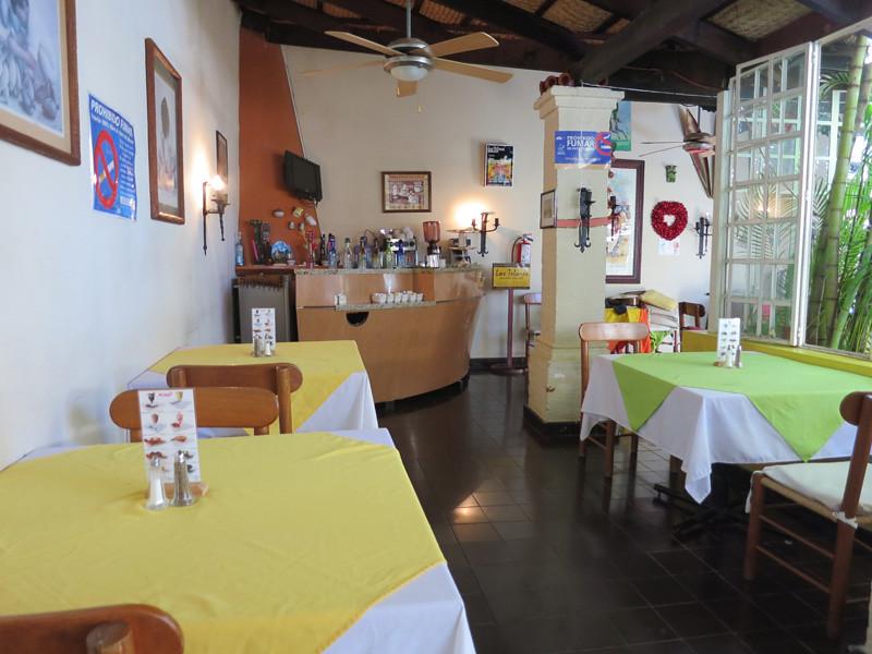 The Sleek 'Los Telares' Restaurant