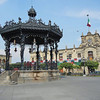 The Art Nouveau Bandstand In The Plaza de Armas