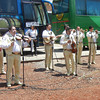 The Mariachis Get You Into The Mood Before Boarding The Buses For The Cuervo Plant Tour
