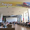 Passengers Waiting At Guadalajara's Estacion Ferrocarril