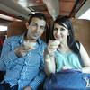 A Delightful Couple From Guadalajara Enjoying A Tamarindo Margarita