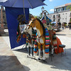 The Ever Present Plastic Horses Found Throughout Mexico For The Kiddie Photos