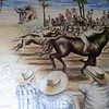 A Mural Of A Traditional Event Held Every Year In This Pueblo