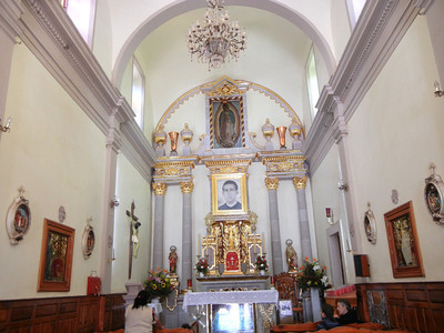 The Interior Of The Templo de Santo Toribio Romo
