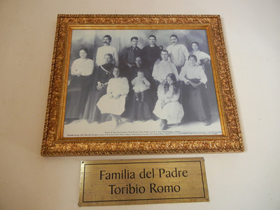 An Interesting Photo In The Capilla Of His Family