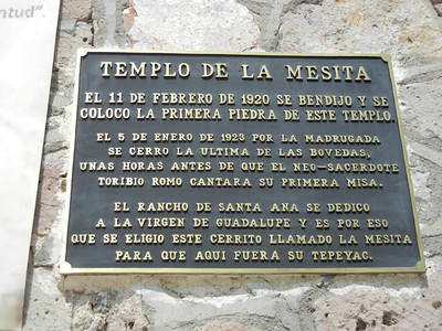 Signage For The Old Templo