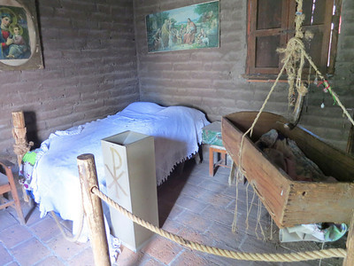 The Interior Of The Rustic Old Homestead