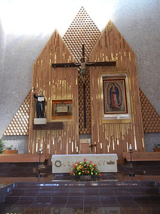 A Closer View Of The Altar