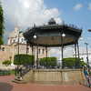 The Beautiful Bandstand In Plaza Morelos Was Fabricated In France