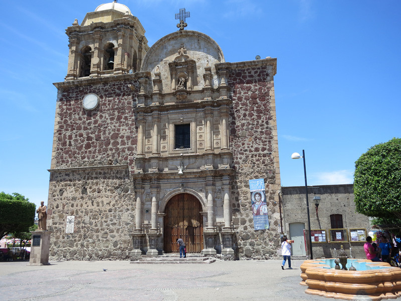 La Iglesia Santiago Apostal, The Central Church In Tequila, Jalisco, Mexico