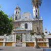 The Facade Of The Santuario de Nuestra Senora de la Soledad